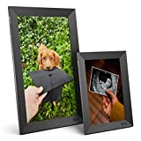 Nixplay Smart Digital Picture Frame Bundle - 10 inch and 15 inch