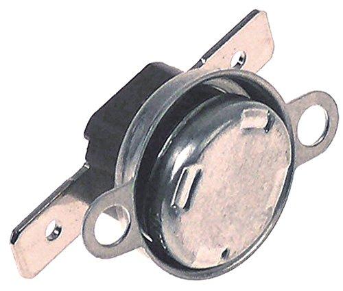 Olis aanlegthermostaat voor keramische kookplaat 74-02VTCEV, 94-04VTCEV, 94-04VTCE, 7NPCF 1NC 150 °C aansluiting F6,3 gatafstand 24 mm