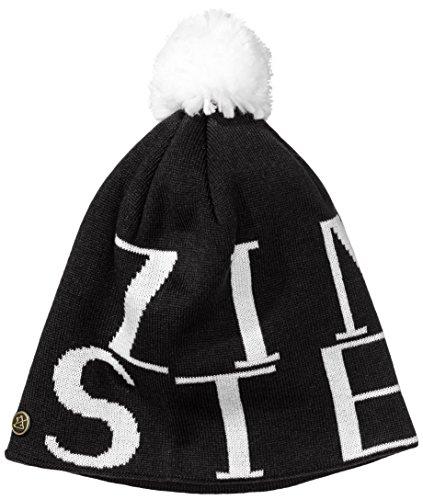 Zimtstern Beanie Identity, Black/White, One Size