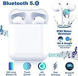 Auricolare Bluetooth Senza Fili, Cuffie Wireless Stereo 3D with IPX8 Impermeabile, Accoppiamento...