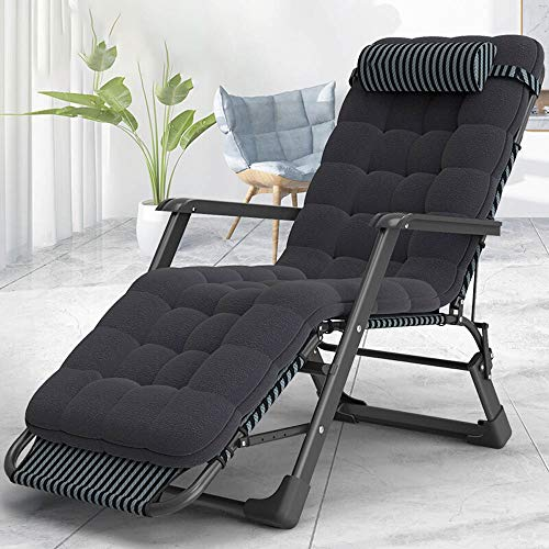 Why Should You Buy MDYYD Foldable Bed Oxford Cloth Folding Bed Recliner Bed Accompanying Bed for Off...
