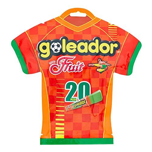 Goleador Fruit Gummy Candy - Soccer Jersey Retail Bag (5.29 Oz.| 20 Pcs.)