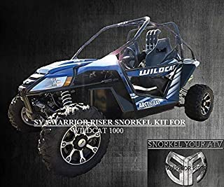 2012 - Early 2013 Arctic Cat Wild Cat 1000 Warrior Riser Snorkel kit Without LED Light by SYA