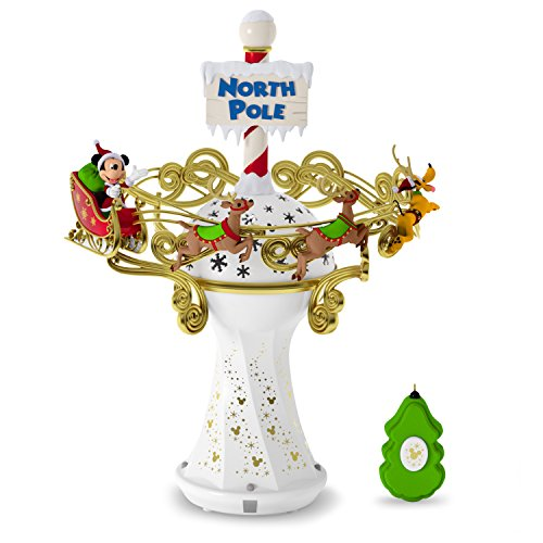 Hallmark Keepsake 2017 Disney Mickey Mouse Oh, What Fun! Tree Topper With Light and Music