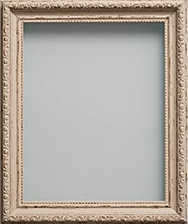 Frame Company Brompton Range A3 Shabby Chic Picture Photo Frame, Vintage Cream