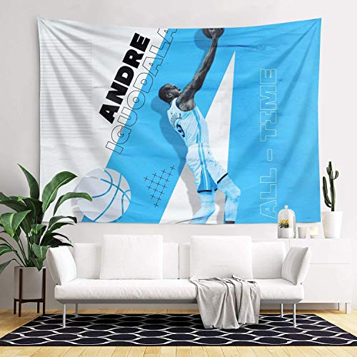 NXJDHLuui American Basketball Player Delicate Wall Blanket Wall Art...