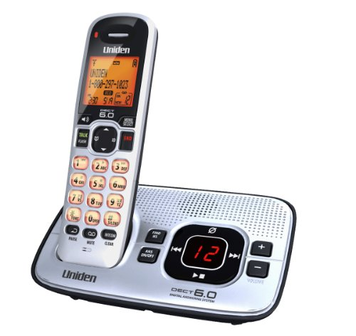 Uniden D1680 Cordless Phone with Answering system