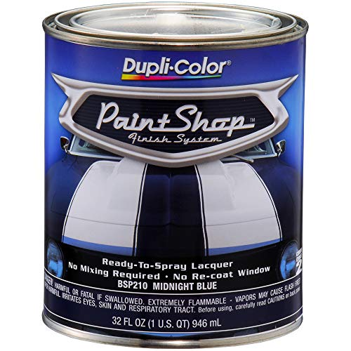 Dupli-Color BSP210 Midnight Blue Paint Shop Finish System - 32 oz, Single
