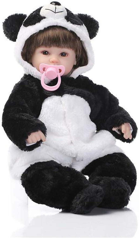 RENYAYA Wiedergeborene Baby Doll Soft Silikon Vinyl 42cm Lovely Lifelike Cute Baby Boy Girl Toy Doll Free Magnet Pacifier Dummy B07MGRJQ9R Kindheit Spaß  | Vorzügliche Verarbeitung