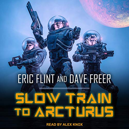 Slow Train to Arcturus audiobook cover art