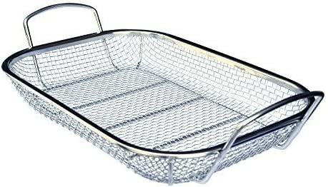 Culina Stainless Steel Square Grill Basket – The Grill Basket With the Largest Capacity