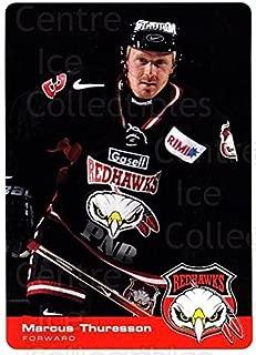 (CI) Marcus Thuresson Hockey Card 2002-03 Swedish Malmo Redhawks Team Issue 8 Marcus Thuresson