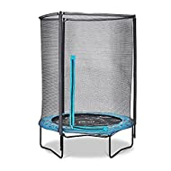 Plum® 4.5ft Junior Ocean Trampoline and Enclosure With Sounds - Kids Trampoline - 3 Years + - Four M...