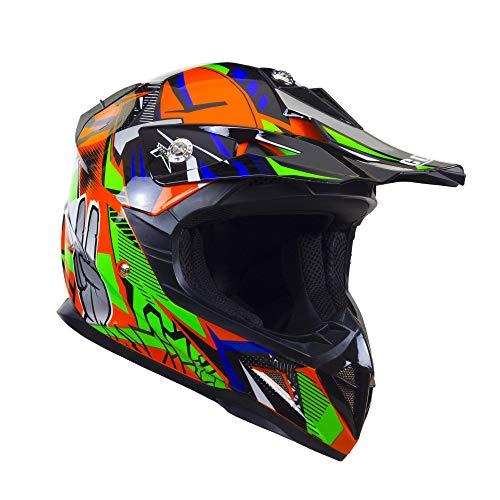 Cross-Helm für Kinder, CGM 209G Winner Orange, YL