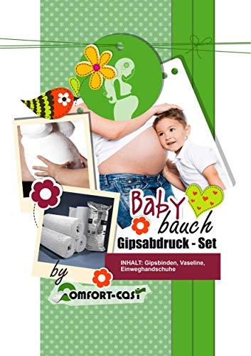Gipsabdruck Set Babybauch Schwangerschaftsbauch Gipsabdruckset