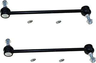 Both (2) Brand New Front Stabilizer Sway Bar End Link - Driver and Passenger Side for Chrysler Pacifica, Town & Country, Voyager, Dodge Caravan, Grand Caravan, Plymouth Grand Voyager, Voyager