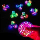 LINYUXX Hand Spinner avec LED Light,Faible Bruit, Anti-Chute, Soulagement de Stress...