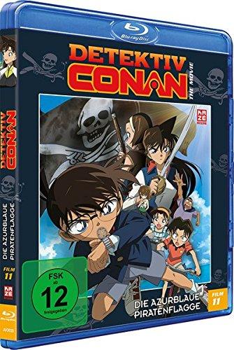 Detektiv Conan: Die azurblaue Piratenflagge - 11.Film - [Blu-ray]