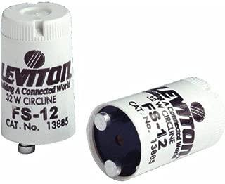 Leviton 13885 Fluorescent Starter FS-12 (Package of 10)