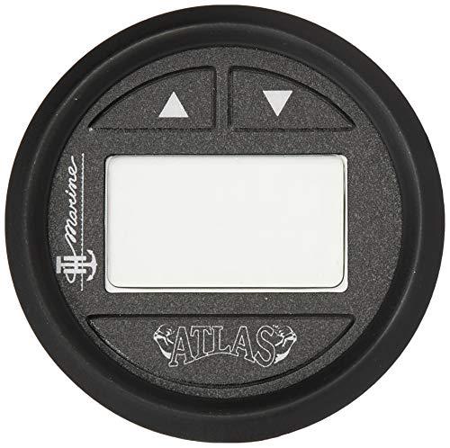 """Atlas FAGK-2-DP Jack Plate Digital Gauge Black Face, Fits 6"""" 10"""" 12"""" & 14"""" Models"""
