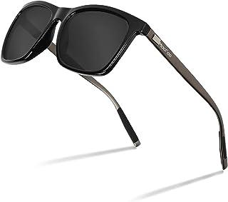 نظارات شمسية مستقطبة MooFee للرجال والنساء رجعية TR90 عاكسة عالية الوضوح المستقطبة UV400D نظارات شمسية للجنسين