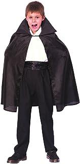 Bristol Novelty Black Dracula Cape Medium Childrens Costume Boy's Medium