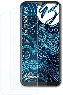 Bruni Skärmskydd är kompatibel med LG W30 Pro Film, kristallklart Skyddsfilm (2X)