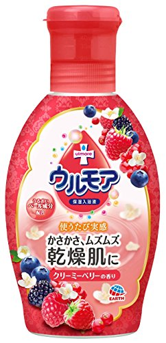 保湿入浴液 ウルモア クリーミーベリーの香り 600ml