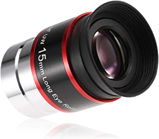 Walmeck- 1.25INCH 68 Degree Wide Angle Eyepiece Planetary Eye Lens Astronomical Telescope Eyepiece 6MM / 9MM / 15MM / 20MM