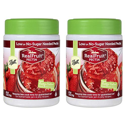 Ball Real Fruit, Low or No-Sugar-Needed Pectin 5.4 oz (Pack of 2)