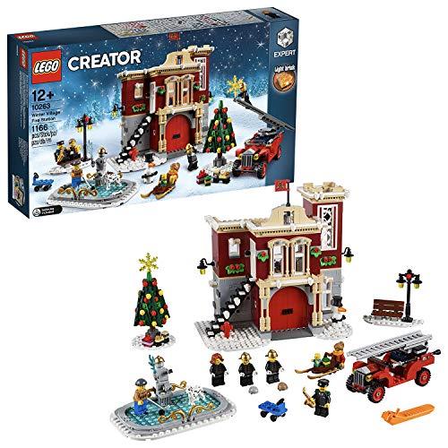 LEGO 10263 Creator Winterliche Feuerwache, Bauset, mehrfarbig