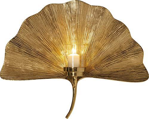Wandkerzenhalter Ginkgo Leaf 60cm