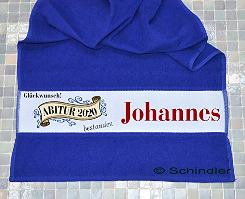 bedruckte Frottiere Handtücher oder Bade/Duschtücher - Abigeschenke - Motiv 4