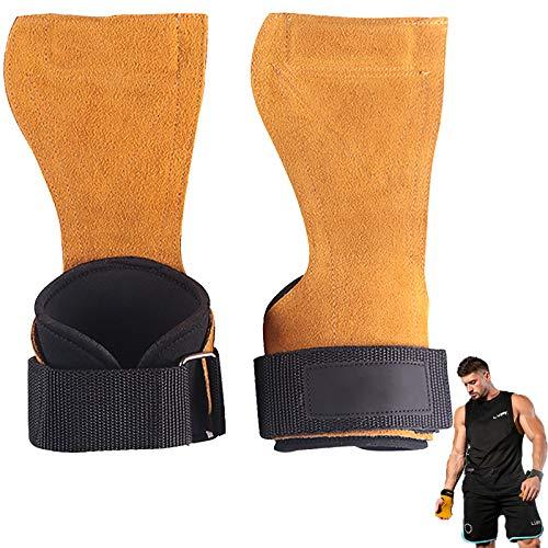 Handgelenk Bandagen Verstellbarem Rindsleder Palmenschutz rutschfest Verschleißfest Für Bodybuilding Kraftsport