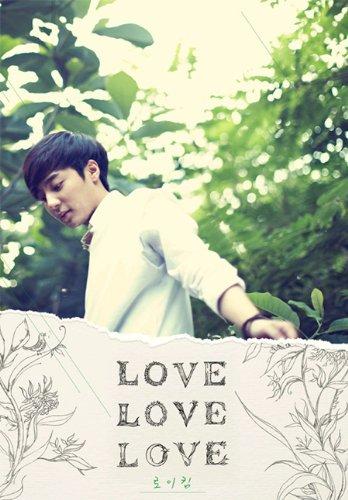 Kpop CD, Roy Kim - Love Love Love (Poster ver)[002kr]