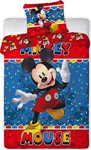 Juego de funda de edredón Mickey Disney – Juego de funda nórdica