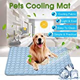 VASLON Pet Cooling Mat,Summer Kennel Bed Pad For All Dogs, Cats with Pet