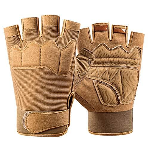 YOYIK Cycling Gloves Fingerless Mountain Bike Gloves Best Workout Training Gloves Half Finger Gloves XL Half Finger Gloves Riding Gloves for Hiking Climbing Cross Country Working Men'S Gloves