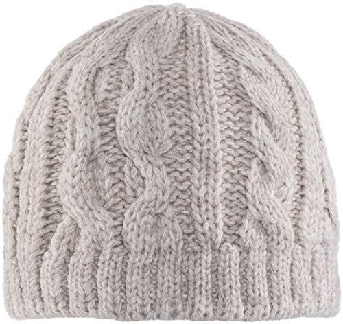 Elkline Schnellkochzopf Strickmütze lightsand 2018 Kopfbedeckung