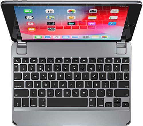 Brydge BRY1012 Teclado para móvil Gris QWERTY Inglés Bluetooth - Teclados para móviles (Gris, Aluminio, Apple, iPad Pro 9.7