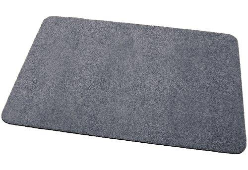 Deko-Matten-Shop Fußmatte Classic, Schmutzfangmatte, rechteckig, 30x50 cm, grau, in 13 Größen und 11 Farben