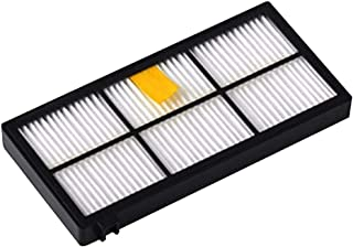 JMcall® Brush Filter For IRobot Roomba 800/900 Series 800 805 850 860 861 866 871 985 With(White,ABS)