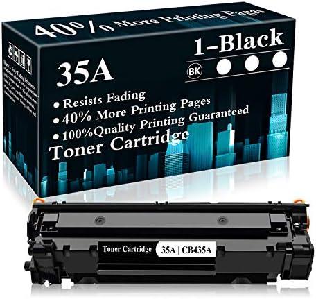 1 Black 35A CB435A Toner Cartridge Replacement for HP Laserjet P1002 P1003 P1004 P1005 P1006 product image