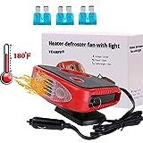 Windshield Car Heater - Portable Car Defroster Defogger 12V...