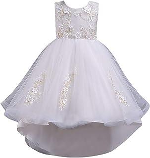 86e78265a4709 Robe Fille Ceremonie Enfant Robe Fille Mariage Robe Fille Princesse  Dentelle Audrey Hepburn Robe Fille 2