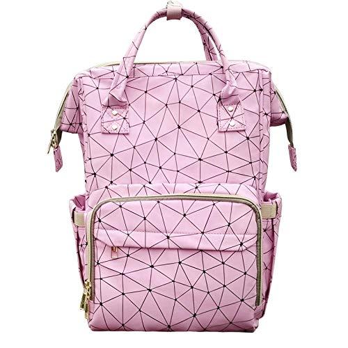 kapazität babytasche Mama Rucksack Cross-Border New Wickeltasche Mom Rucksack Mutter Baby Bag-Pink wickelrucksack wickeltasche multifunktional