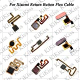 Lysee Mobile Phone Flex Cables - KiKiss Fingerprint Flex Cable For Xiaomi mix mix 2 mix 2s Redmi 6 6 Pro NOTE 3 Touch Sensor ID Home Button Return Assembly Parts - (Color: For mix 2S Black)