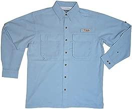 Bimini Bay Outfitters Men's Bimini Flats IV with BloodGuard Quick Dri Long Sleeve Shirt