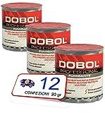 12 botes 20gr. Dobol Insecticida fumígeno con cifenotrin habitaciones de 250m3