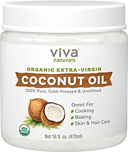Viva Naturals Organic Extra Virgin Coconut Oil 16 Ounce product image
